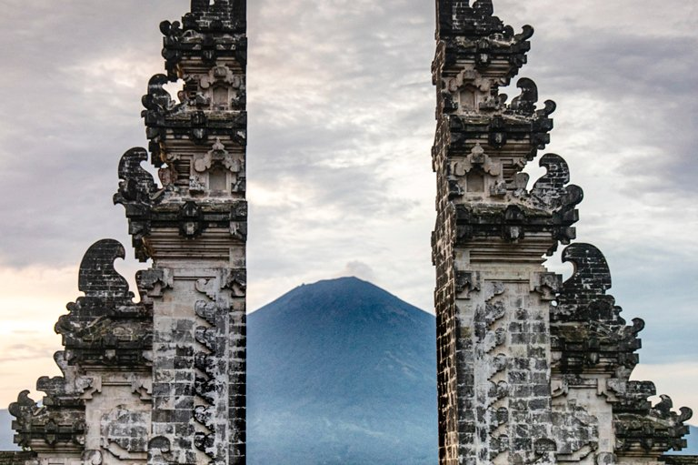 Gate of Heaven at the Lempuyang Temple, Bali