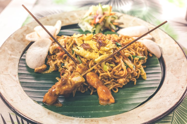 Mie Goreng - traditional food in Bali