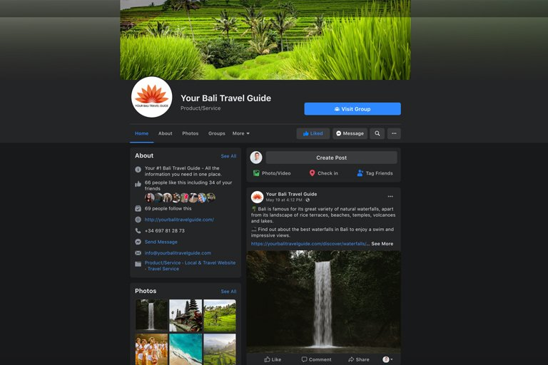 Your Bali Travel Guide - Facebook Page